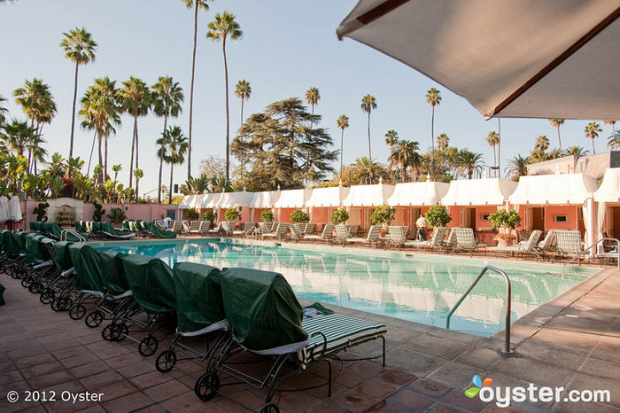 The Pool at the Beverly Hills Hotel