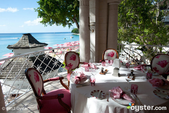 L'Acajou Restaurant at Sandy Lane, Barbados
