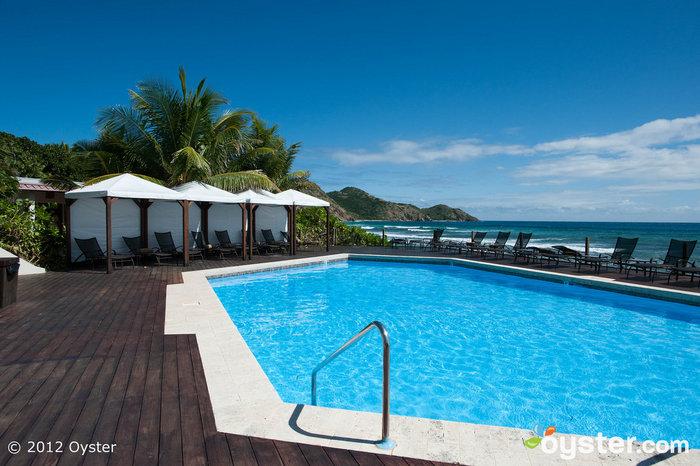 Pool at the Biras Creek Resort