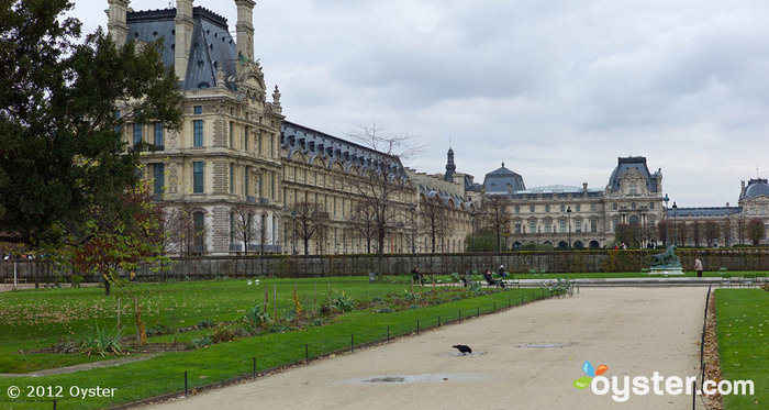 Relax at the Tuileries Garden after visiting the Louvre