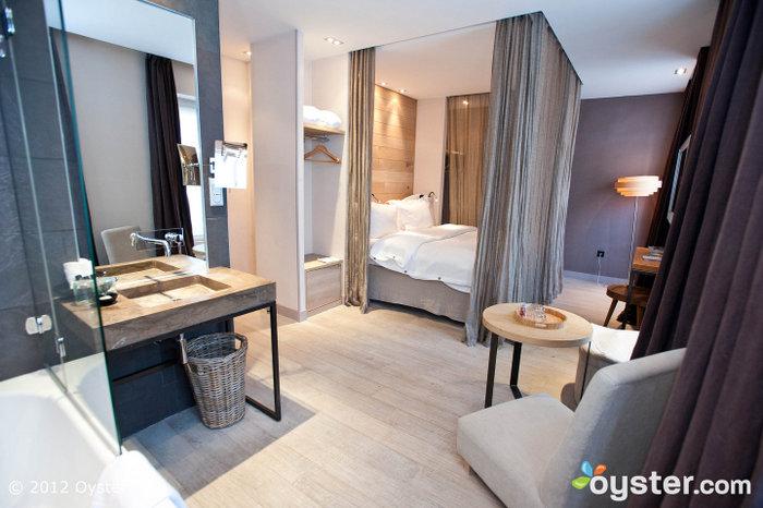 Exception de la suite junior à l'hôtel caché; Paris, France