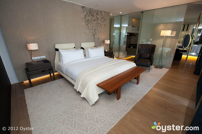 Spacious,contemporary rooms were decorated by a local Spanish designer.