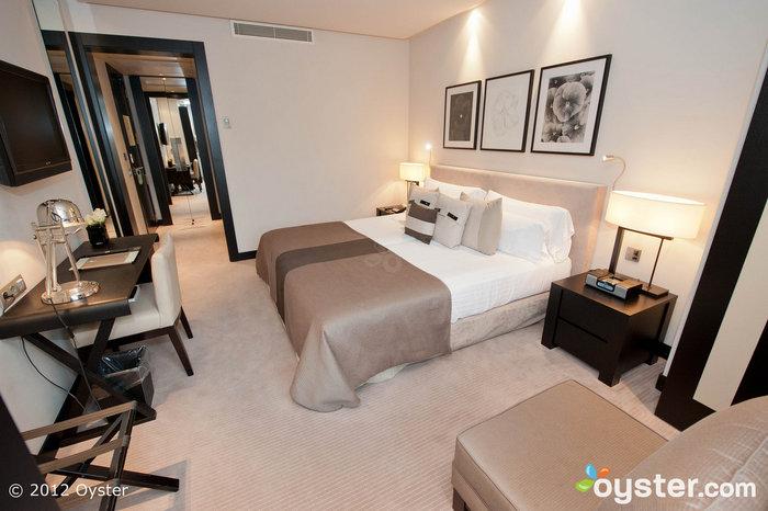 Stylish rooms have flat-screen TVs, iPod docks and rainfall showerheads.