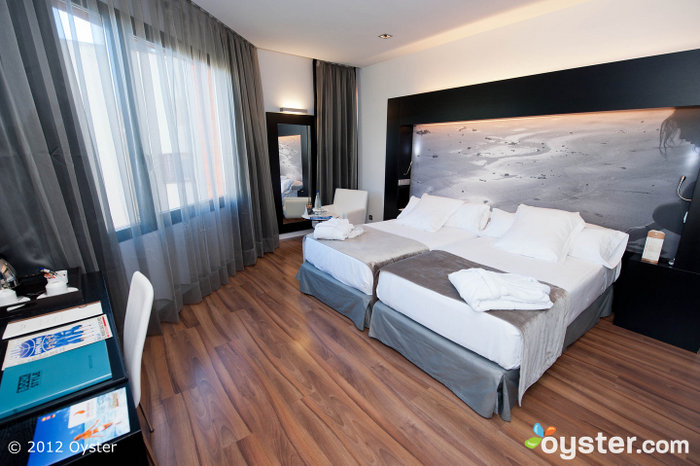Premium rooms are available with huge private terraces.
