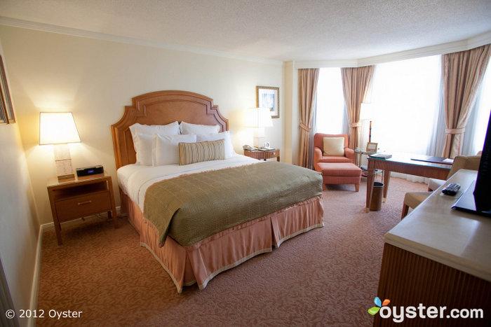 Bright, elegant rooms have bay windows, flat-screen TVs and iPod docks.