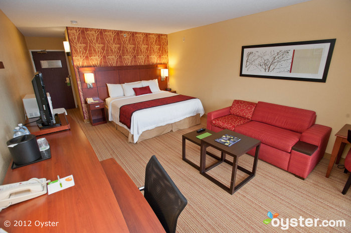 The Courtyard has updated interiors and high-tech amenities.