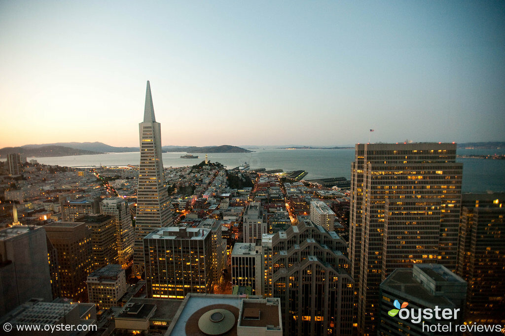 View from The Mandarin Oriental Hotel, San Francisco
