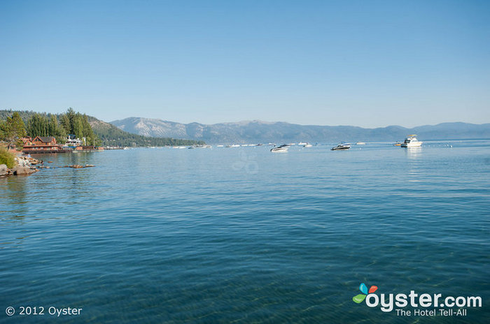 Lake Tahoe gets 300 days of sunshine a year.