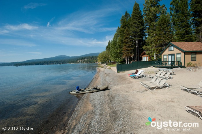 Chi ha bisogno di fare storie in un posto come il Franciscan Lakeside Lodge a Lake Tahoe?