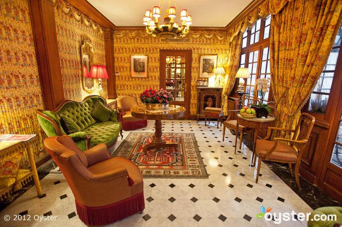 Hotel Duc De Saint-Simon has an elegant vibe that feels classically Parisian.