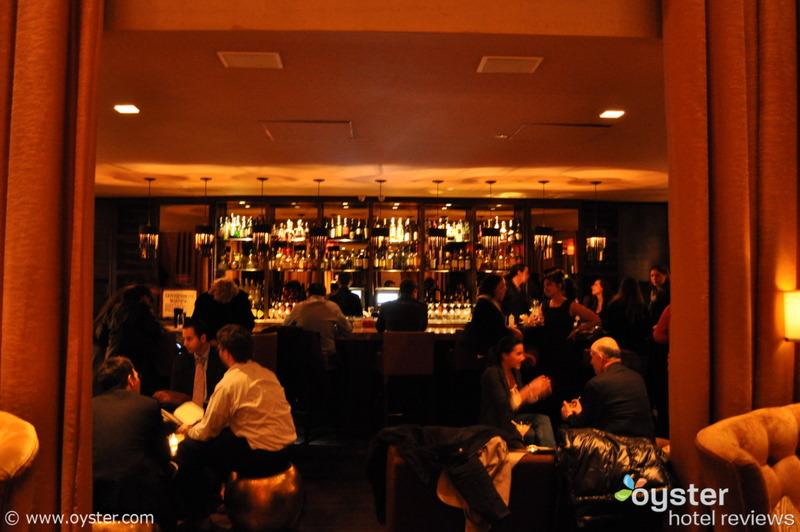 The scene at the Empire Hotel's Lobby Bar