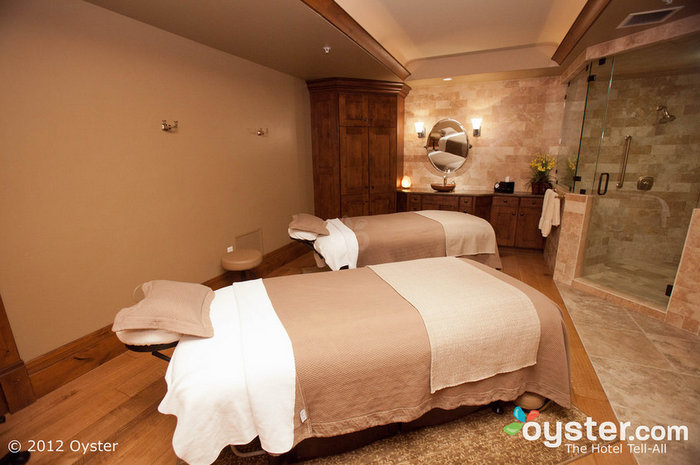 The spa at the lodge is top-notch, and features numerous signature treatments.