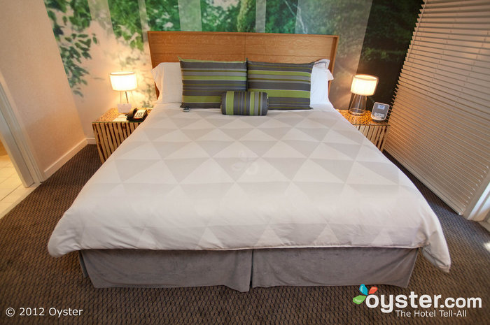 Sleep Number beds at the Domain Hotel mean you'll have no problem catching some zzzs.