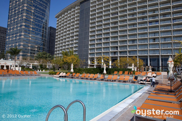 The Pool at the Hyatt Regency Century Plaza in West L.A.