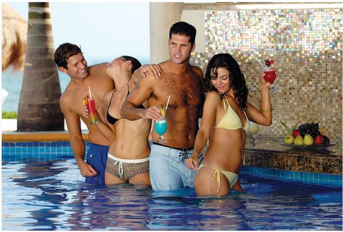Photo from the Temptation Resort Spa Cancun website.