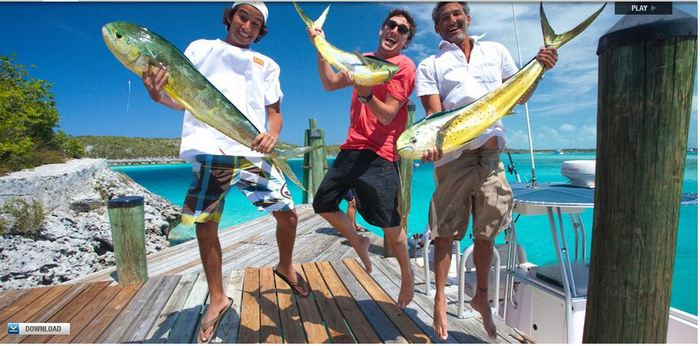 Photo from the Fowl Cay Resort website.