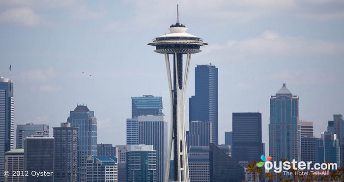 Even the Space Needle is a wheelchair-friendly attraction in Seattle.