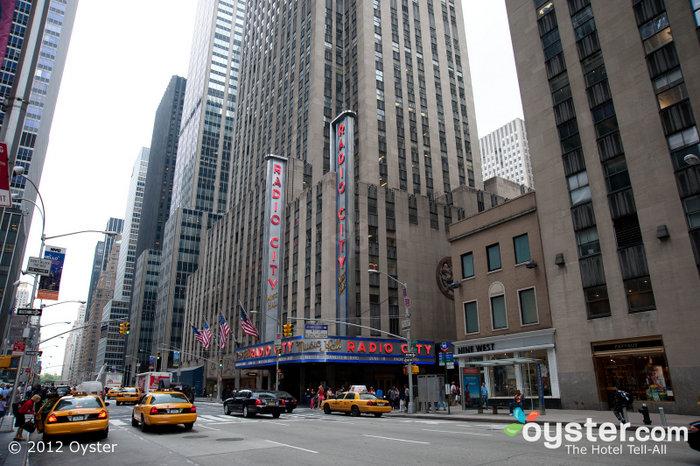 Die Radio City Music Hall ist seit Jahrzehnten die Heimat der Rockettes.