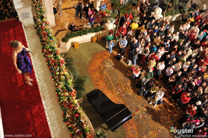 Celine Dion performing at the Grand Floridian in Disney World
