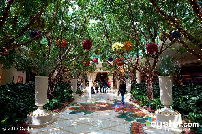 Hallways at the Wynn Las Vegas