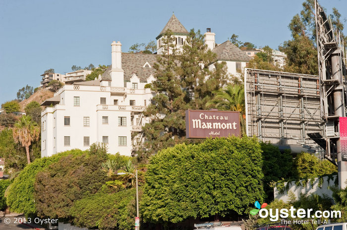 Award-laden Harvey Weinstein has hosted many a Globes party at the Chateau Marmont.