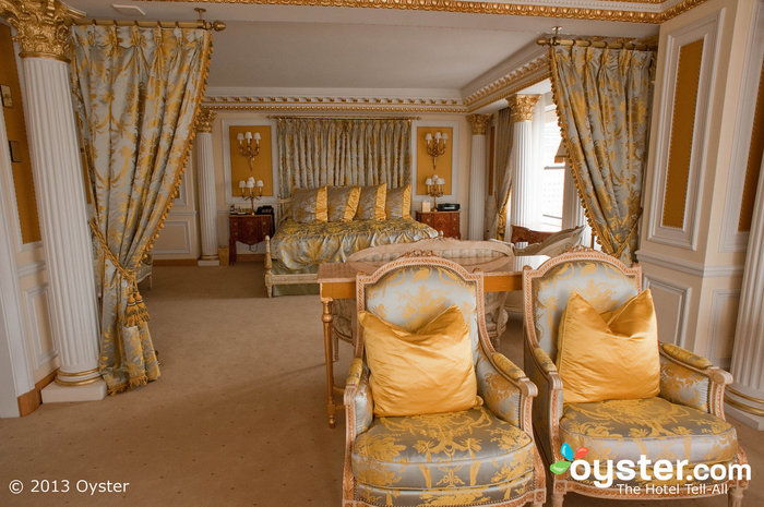 Live like a Queen (or King!) in the Royal Suite at the Palace in New York.