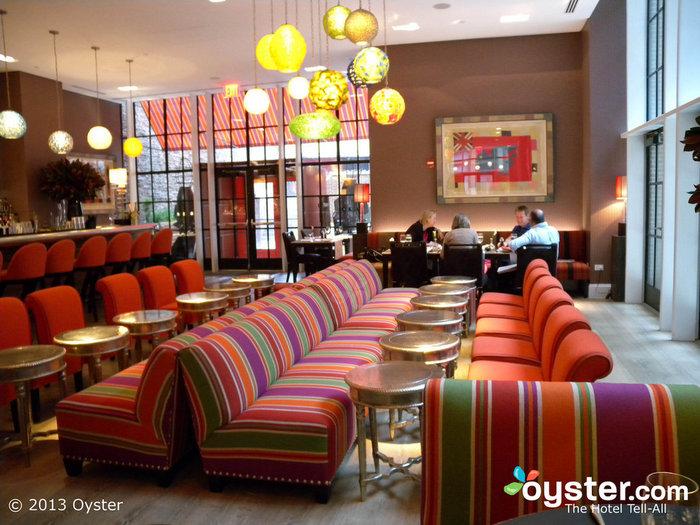 O bar Crosby no Crosby Street Hotel