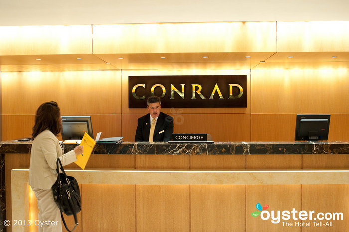 At Conrad Hotels, like this one in Miami, guests can have concierge service in the palm of their hands.