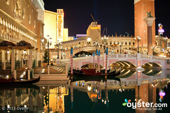 The Venetian in Las Vegas is one of Adelson's crowning achivements
