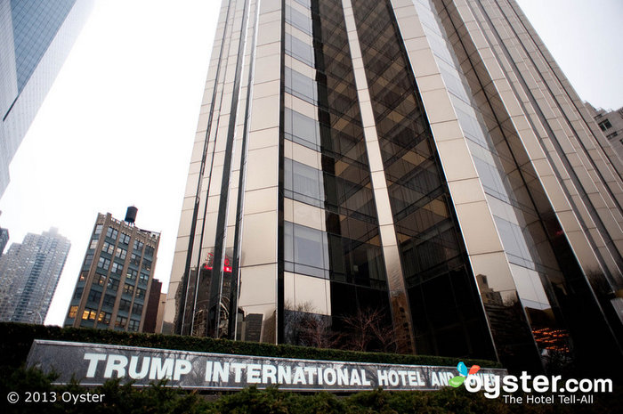 Trump towers over (almost) every other hotel magnate in the world