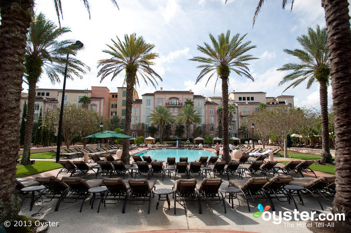 The Universal Portofino Bay in Orlando is just one of the massive resorts in the Loews empire