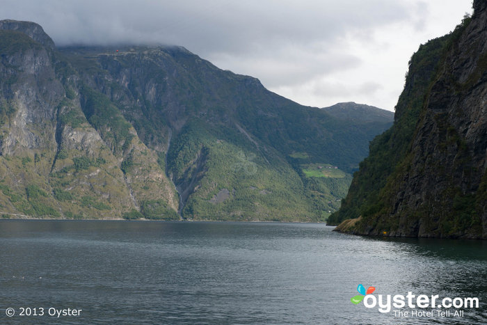 The Naerofjord and the Aurlandsfjord are picturesque.