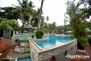 Oyster's photo of the pool at the Marigot Beach Club