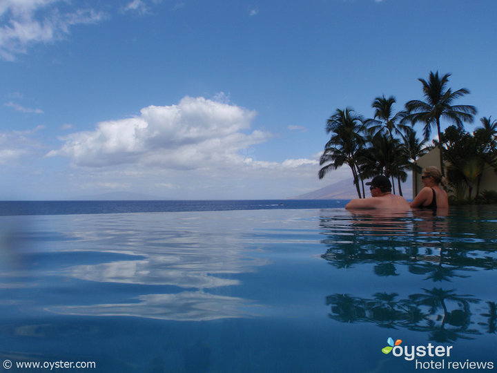 The adults-only pool at the Marriott Wailea Resort in Maui, Hawaii