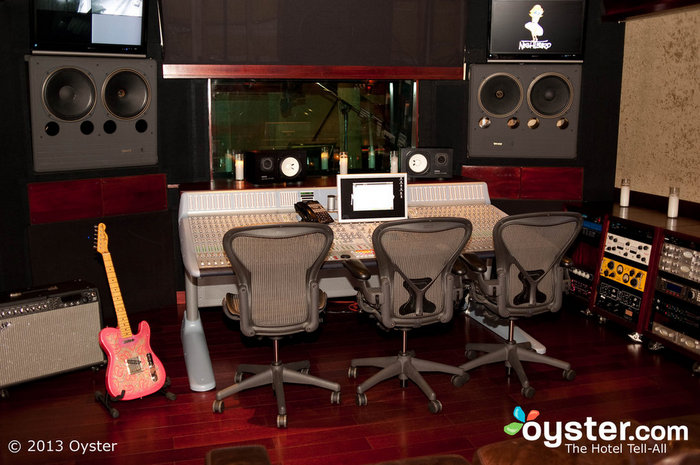 The Nightbird Sound Studio at the Sunset Marquis has hosted A-list recording artists for decades.
