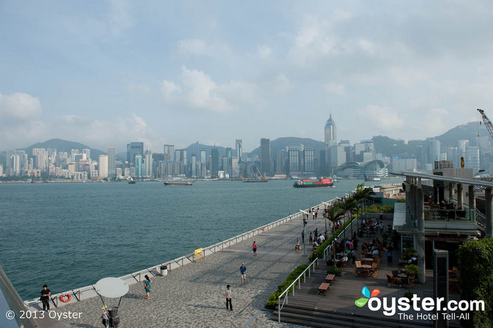 Victoria Harbour, as seen from Kowloon, will come to life during the new year celebrations.