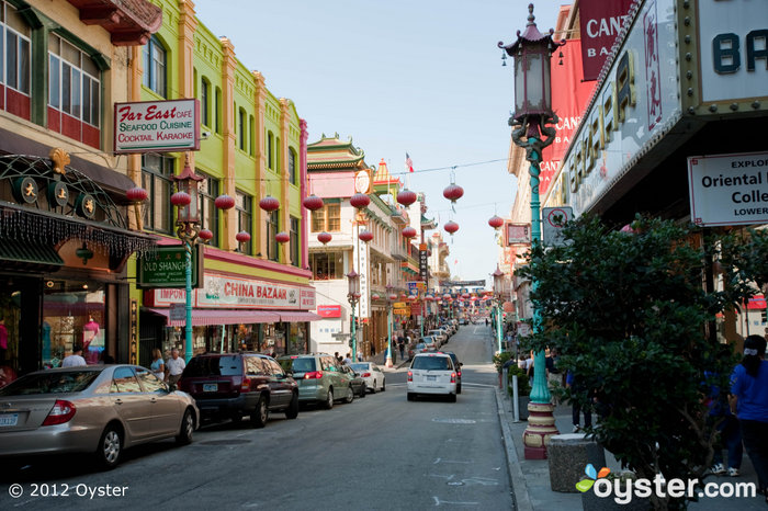 San Francisco's Chinatown is renowned throughout the world.