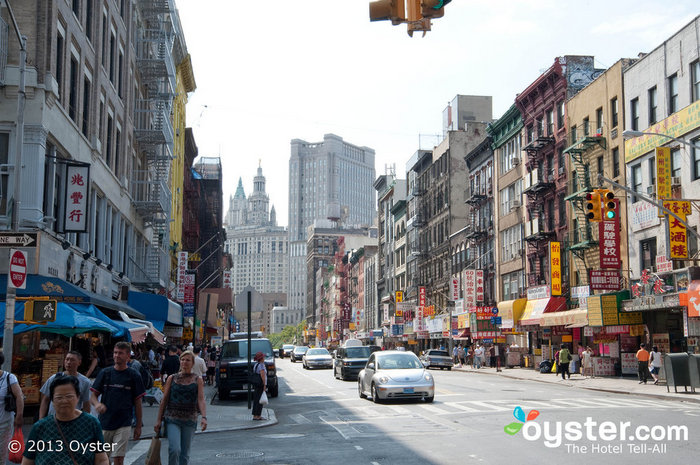 Hotel 91 is located in the heart of NYC's Chinatown.