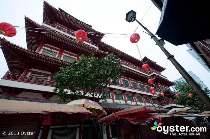 El barrio chino de Singapur ofrece restaurantes y tiendas exclusivas.