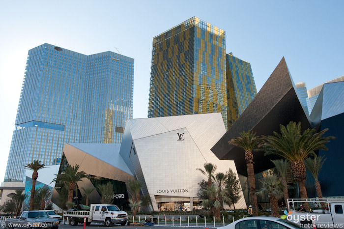 View of City Center from the Las Vegas Strip