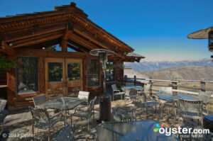 The Granary offers phenomenal views and cuisine in Jackson Hole.