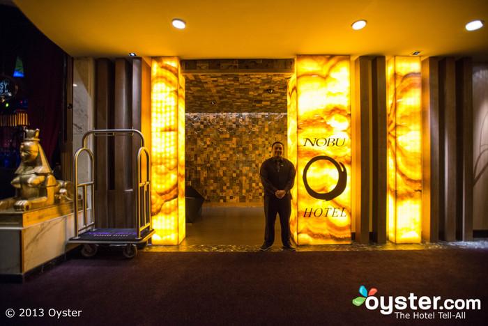 Bienvenido al Hotel Nobu.
