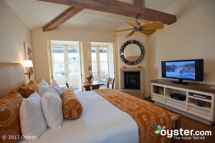 Auberge Du Soleil's rooms are the perfect combo of laid-back and chic.