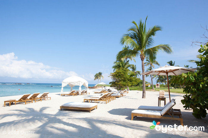 White sand, blue waters -- what more could you want?