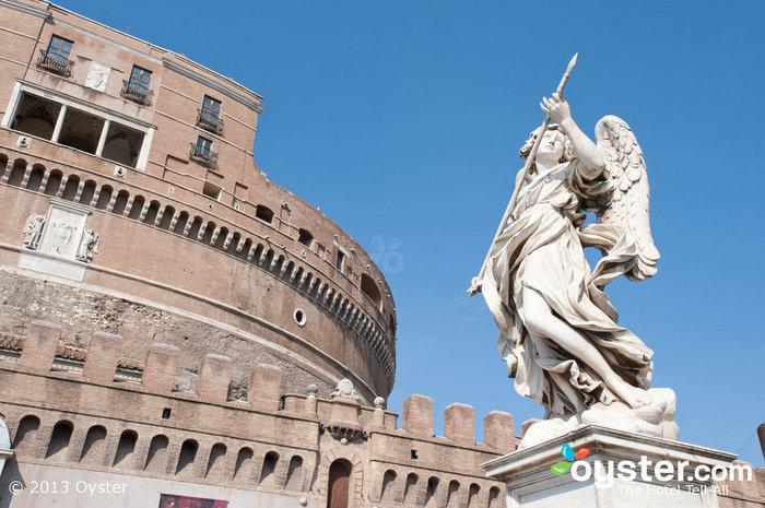 Das Castel, heute ein Museum, war oft ein sicherer Zufluchtsort für Päpste - aber Benedikt wird sich in ein Kloster in den Mauern des Vatikans zurückziehen, nicht an diesen uralten Ort.