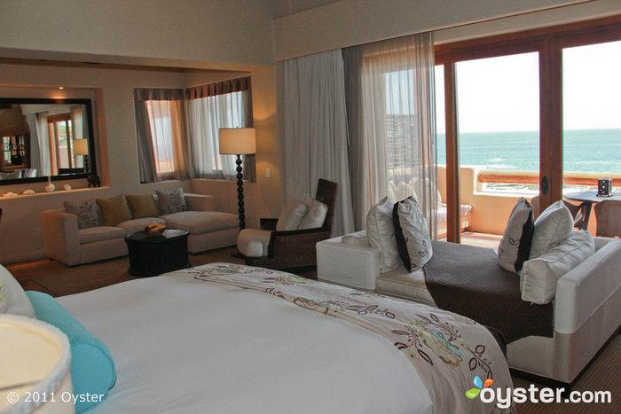 Palapa Spa Suite mit 1 Schlafzimmer und Meerblick