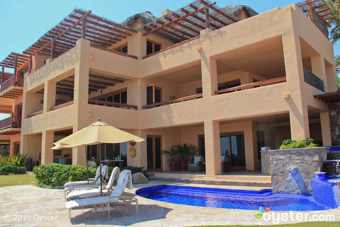 Äußeres der Beachfront Luxury Suite im Esperanza Resort