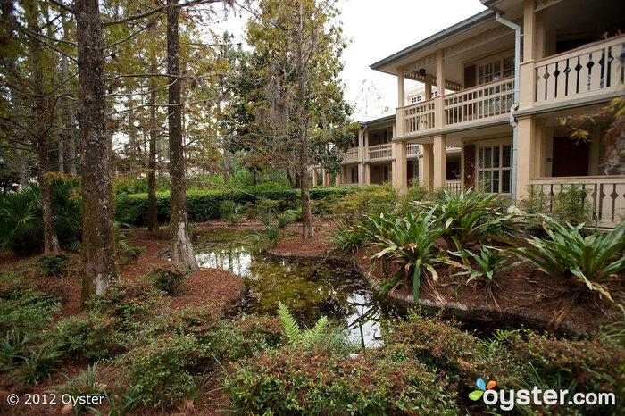 Disney Port Orleans - Riverside hat eine rustikale, Rückzug-wie Vibe gut geeignet für Paare.