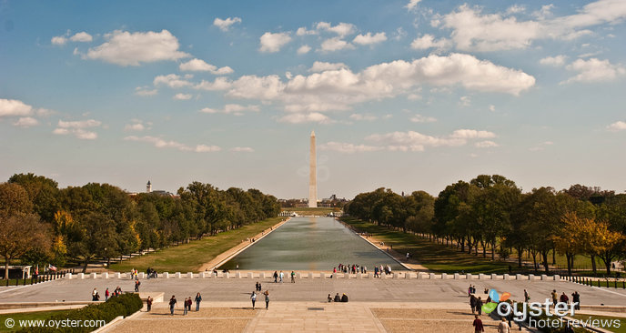 Washington Monument, as seen from the Lincoln Memorial