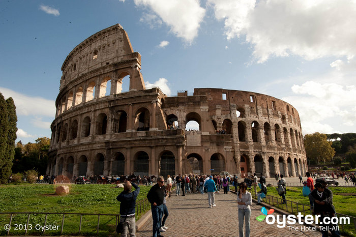 The Colosseum has been around since 72 AD, and it's still Rome's most iconic landmark.